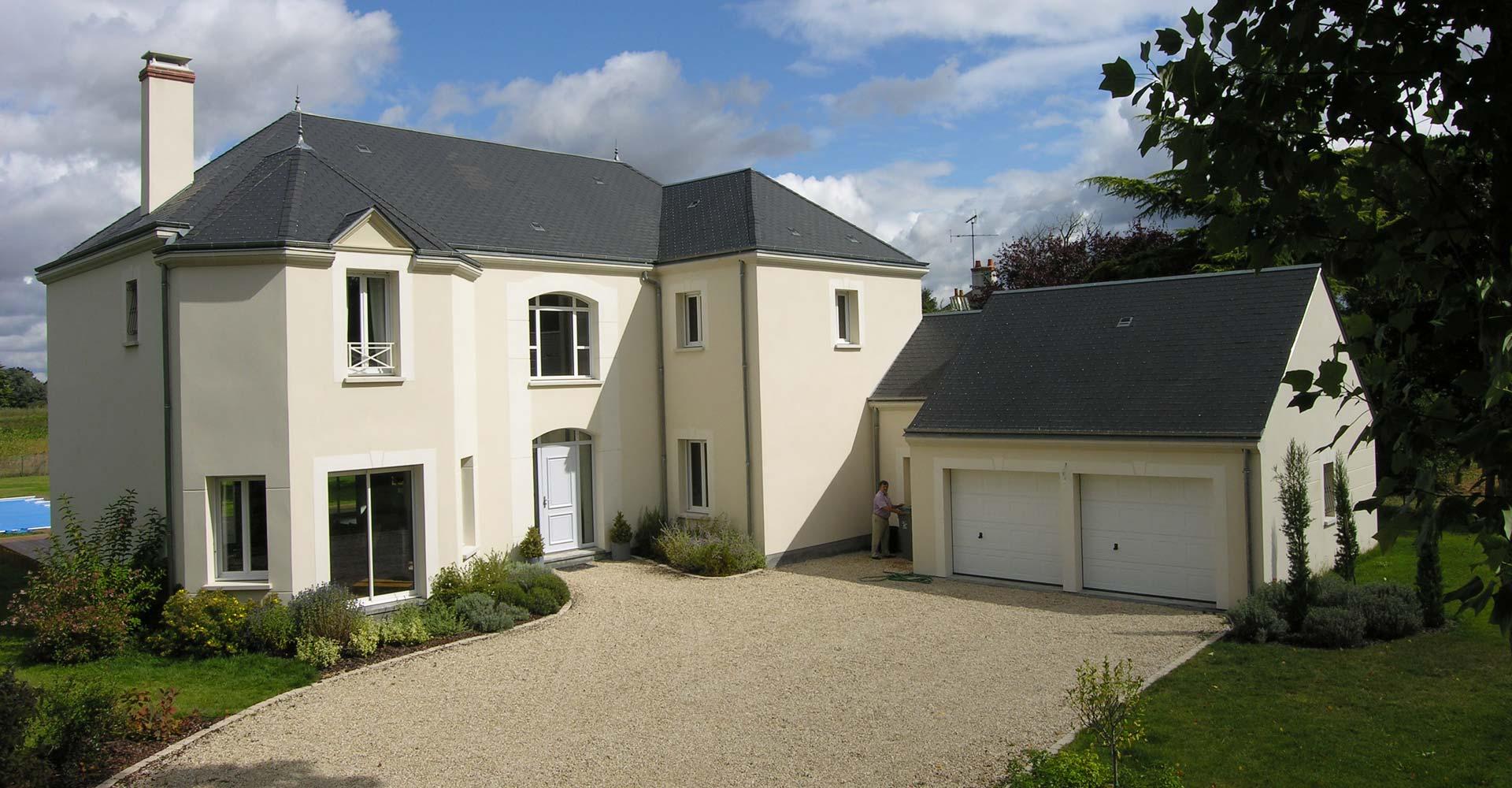 cr ation sur mesure les demeures du lys constructeur de maisons individuelles 45. Black Bedroom Furniture Sets. Home Design Ideas